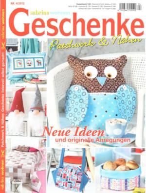 sabrina wohnen geschenke patchwork n hen in zeitschriften kaufen bei. Black Bedroom Furniture Sets. Home Design Ideas