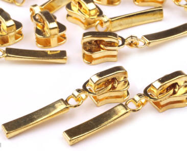 Reissverschluss Schieber Gold Fur 5mm Kaufen Im Shop Bei Patchwork De