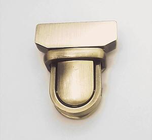 steckschloss f r taschen 29 mm messing geb rstet kaufen im shop bei. Black Bedroom Furniture Sets. Home Design Ideas