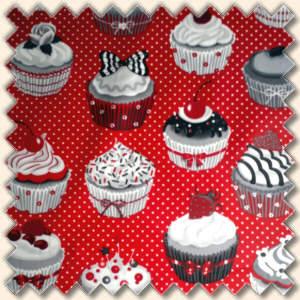 cupcake beschichtete baumwolle kaufen im shop bei. Black Bedroom Furniture Sets. Home Design Ideas