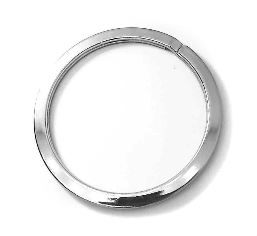 schl sselring extra gross nickel silber gl nzend 53 mm. Black Bedroom Furniture Sets. Home Design Ideas
