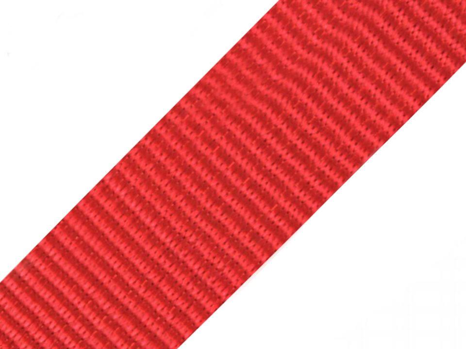 4 meter gurtband rot 5cm 50mm breit aus polypropylen for Kuchenzeile 4 meter breit