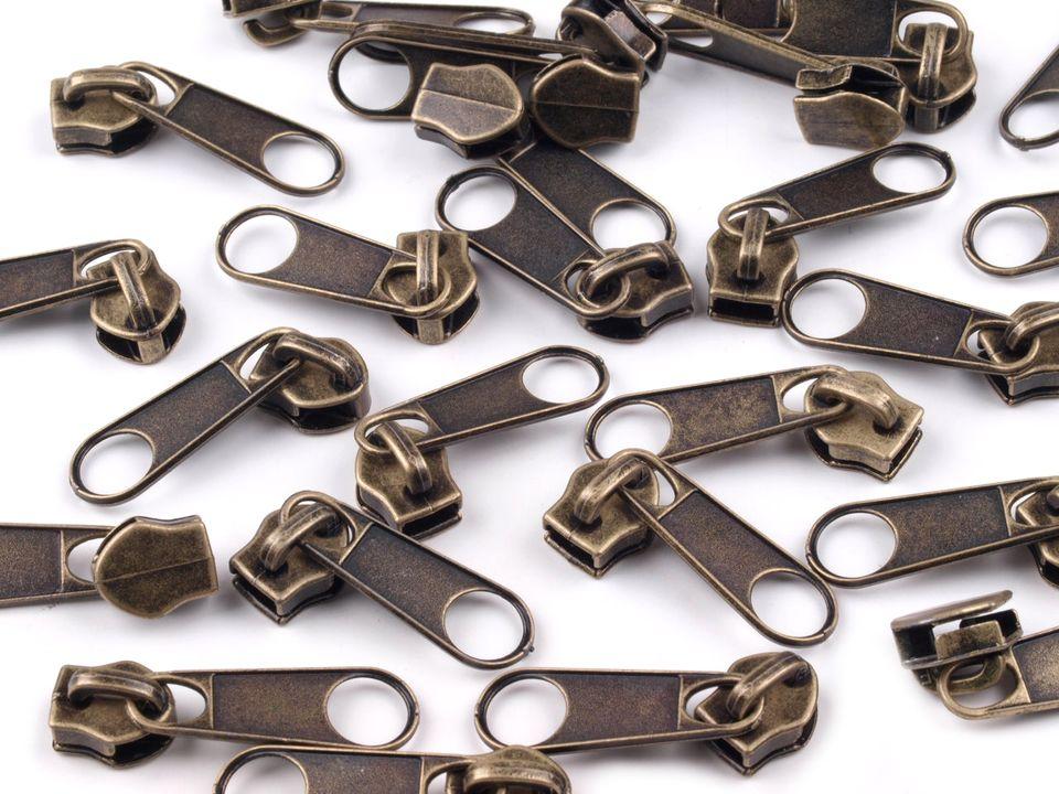 Reißverschluss Zipper Kaufen : 10 rei verschluss zipper schieber altmessing f r 5mm ~ A.2002-acura-tl-radio.info Haus und Dekorationen