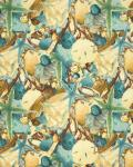Scattered Shells, Beach Treasures, Marjolein Bastin for Free Spirit, PWMB030-SKYXX
