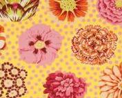 Yellow Big Blooms, Kaffe Fassett