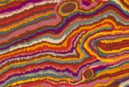 """Kaffe Fassett, Patchworkstoff, Multicolor, """"Jupiter Brown"""", Rowan"""