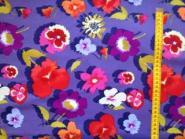 Bunte Blumen, Secret Garden Denim von Free Spirit by Nel Whatmore, toll für Kaleidoskop
