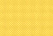 """Weiße Punkte oder Pünktchen auf gelbem Hintergrund. """"Spot on Primrose"""", 830, Y63, makower"""