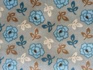 Patchworkstoff, Blue Rosés, 5915, kleine, blaue Rosen, Makower
