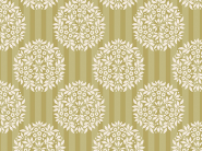 Patchworkstoff Tilda - Flower Ball Olive, Apple Bloom, 480838