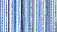 "Patchworkstoff ""Blue oriental stripe"", Oriental,1424, Makower uk"