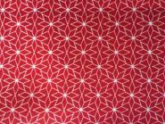 "Panduro Nordic Star Red ""Sterne"" 140 cm Sterne rot weiß"