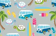 Jersey, VW Bus, Bulli, Urlaub
