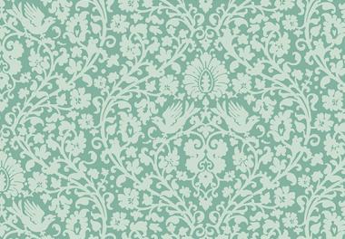 Patchworkstoff Tilda - Addie Teal, Apple Bloom, 480806